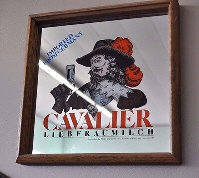 Cavalier Liebfraumilch Wine Bar Mirror