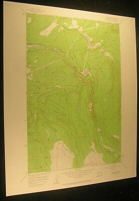 Wilkeson Washington Carbonado Fairfax 1958 vintage USGS original Topo chart map