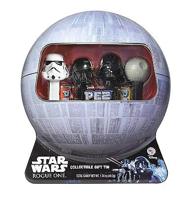 Star Wars Rogue One PEZ Candy Dispensers in Collectible Tin