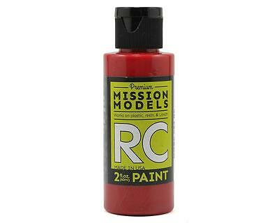 MIOMMRC-054 Mission Models Translucent Red Acrylic Lexan Body Paint (2oz)