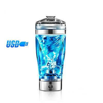 Vortex Mixer Auto Electric Blend Cup Protein Shaker Bottle-MEZCLADOR PROTEINAS