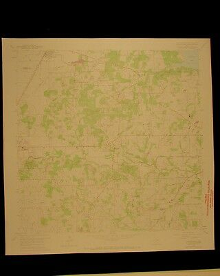 Colleyville Texas vintage 1974 original USGS Topographical chart
