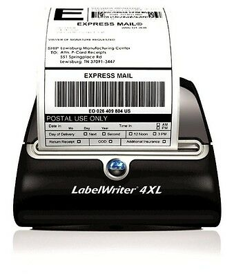 2 Rolls 220 Thermal Shipping Labels 4x6 Compatible 1744907 Dymo 4XL LabelWriter