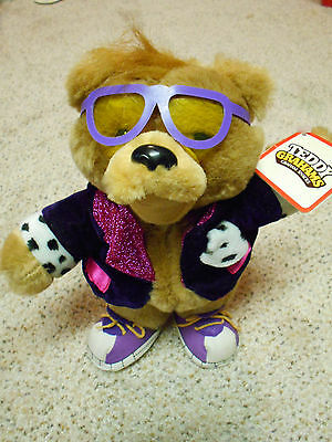 "1990 Applause TEDDY GRAHAMS 11"" Plush w/tags Nabisco Advertising Honey Bear NICE"