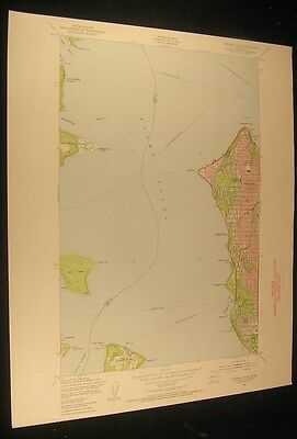 Duwamish Head Washington Restoration Point 1956 Seattle color USGS map