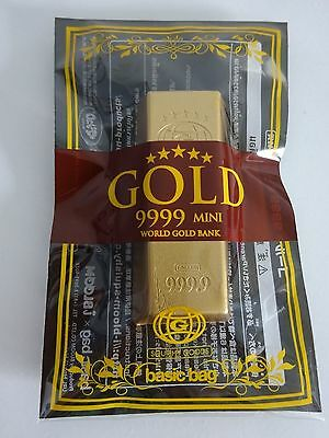 iBloom Gold Bar MINI Squishy NEW IN PACKAGE Small Sized