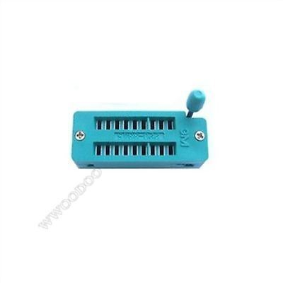 New 18 Pin Universal Zif Dip Tester Ic Test Socket th