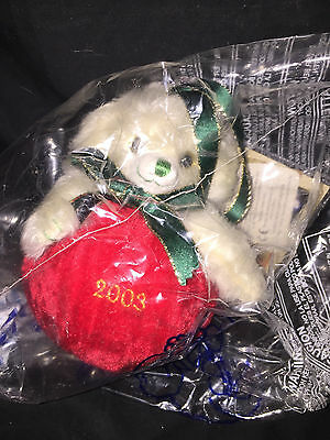 "Merrythought made in England ""cheeky christmas bauble 2003"" NEW"