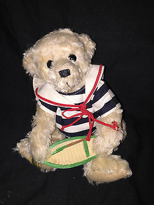 """Merrythought made in England """"Boating Bear"""""""