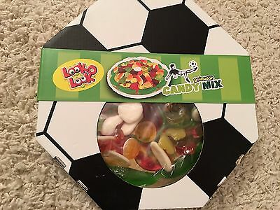 Look O Look Candy Mix Fussball Pizza 22 cm Goleader 400g  Neupreis 8,99 EUR
