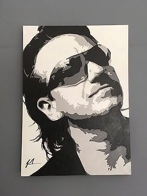 Original Bono (U2) Painting - Acrylic on Canvas