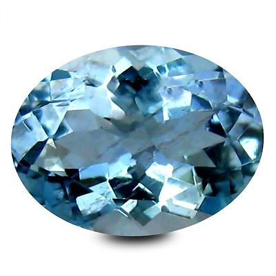 Aigue marine 0.99 carats - Natural aquamarine IGI Certified