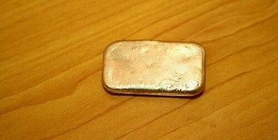 80g gold recovery gold bar Melted Drop Scrap plated Recovered cpu FREE SHIP NEW