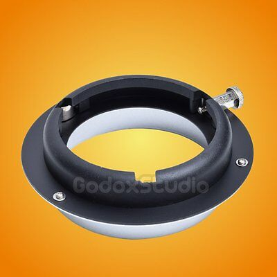 Elinchrom To Bowens Mount Interchangeable Ring Speedring Adapter Strobe Flash