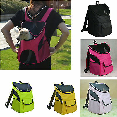 bicycle Travel carry Pet Kennel Cat middle Dog portable Crate Cage backpack
