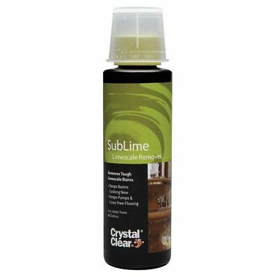 CrystalClear SubLime Limescale Remover - 8 fl oz
