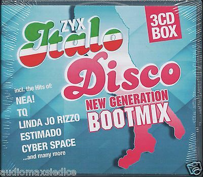 ZYX Italo Disco New Generation Boot Mix (3CD)