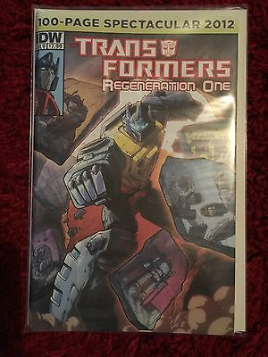 Transformers Regeneration One 100 Page Spectacular 2012 (N/M)
