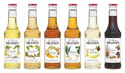 Monin Sirup Coffee Set 6 x 250ml Kaffee delikatessa Monin Set 1