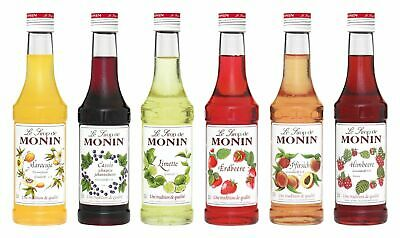 Monin Sirup fruchtige Vielfalt 6 x 250ml Monin Set 2
