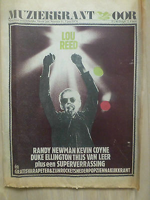 Lou Reed/ Duck De Luxe- Amsterdam Concertgebouw/ March 9, 164/ Rare Cuttings