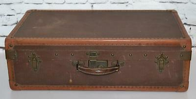 Vintage Travel Steamer Luggage Trunk Suitcase - FREE Shipping [PL3371]