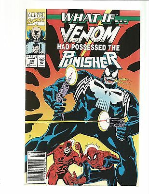 What If? 44   VENOM POSSESSED THE PUNISHER?   NEWSTAND!!!