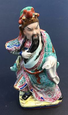 Antique Chinese Statue of Warrior General Guan Yu Gong