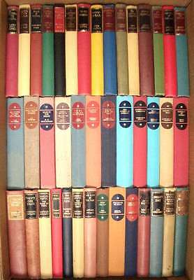 Joblot of 41 assorted old & vintage hardcover books - fiction and non-fiction