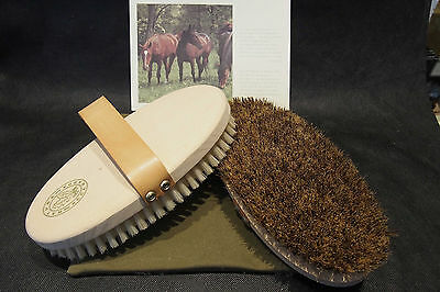 Horses Brushes Set Made In Italy (H. K. Nature) Made In Biodegradable Materials