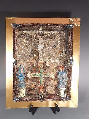 Georgia Georgian Religious Collage Gold Icon Valery Boyakhchian Boyakjian 1977