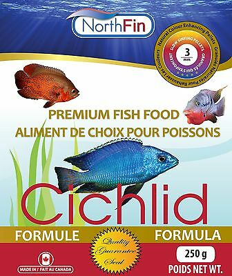 NORTHFIN CICHLID 2 mm 100g Premium Quality Slow Sinking Pellets