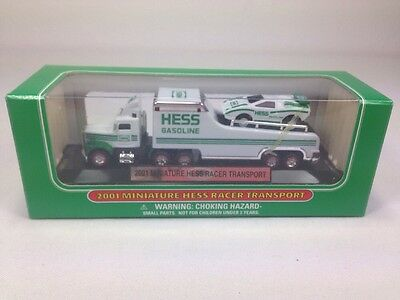 2001 Miniature Hess Racer Transport / New In Box /**free Shipping**