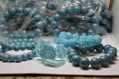 Group of 25 (twenty five)) Mixed Lot Simulated Pearls Bracelets & More