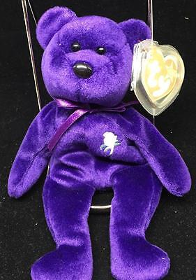 Ty Princess Diana 1997 Very Rare Beanie Baby W/errors Tags Great Condition