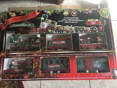EZTEC North Pole Express Christmas Train Set 39 Pieces  Wireles Remote Control