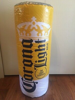"""CORONA Light NEW BEER Can  29"""" TALL INFLATABLE BLOW UP SIGN"""
