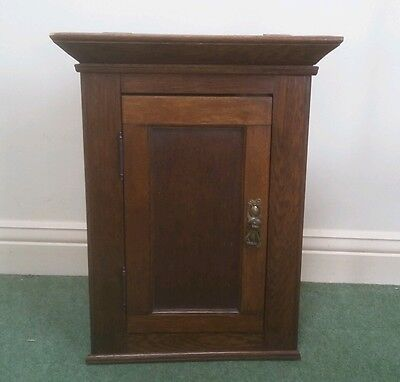 Antique Victorian / Edwardian wooden corner cupboard