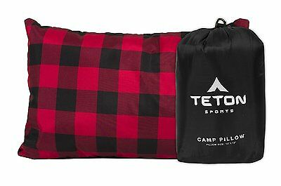 TETON Sports Camp Pillow Perfect for Camping and Travel: Free Stuff Sack Include