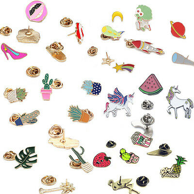 Gift Jewelry Fruit Badge Brooch Pin Shirt Collar Alloy