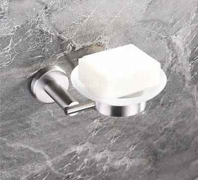 Wall Mounted Brushed Nickel SUS Soap Dish Holder  Shower Soap Dish for Bathroom