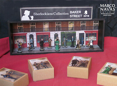 Sherlock Holmes figures Collection