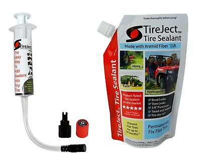 Tire Sealant Kit (Tubeless Puncture Repair Kit slime sealer Filler Liquid)
