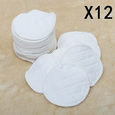 Cheapest Reusable Washable Breast Pads COTTON UK Seller Free UK Postage