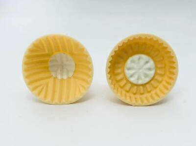 Set Of 2 Pistachio and Dates Maamoul Plastic Mould 2 Different Designs معمول