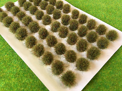 BIG Autumn Static Grass Tufts 7-9mm - Model Railway Scenery Warhammer Bush Large