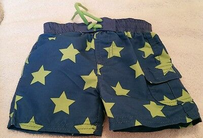 BRAND NEW baby boys 1 month swim shorts.