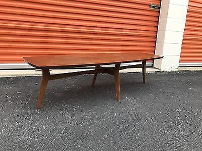 Danish Modern Mid-Century Mersman Surfboard Coffee Table