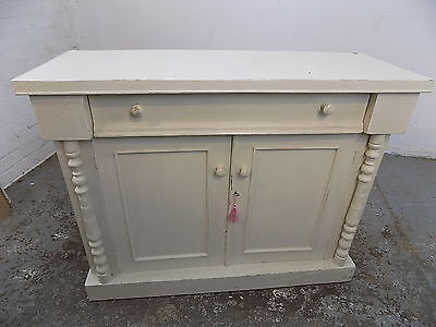 edwardian,sideboard,chiffonier,cupboard,cabinet,drawers,small,painted,antique