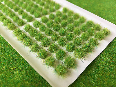 Std Spring Static Grass Tufts 6mm - Model Scenery Warhammer Wargame Gamer Basing